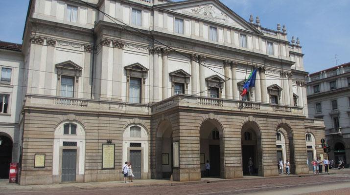 Samstag: Mailand, Opernhaus Scala