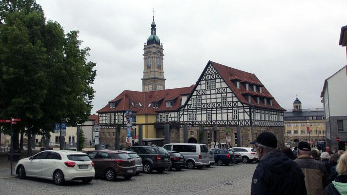 Mittwoch: Rundgang durch die Altstadt von Eisenach
