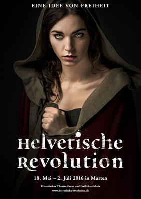 Make-up Werbekampagne Freilichtspiele Murten - photo: Remo Neuhaus