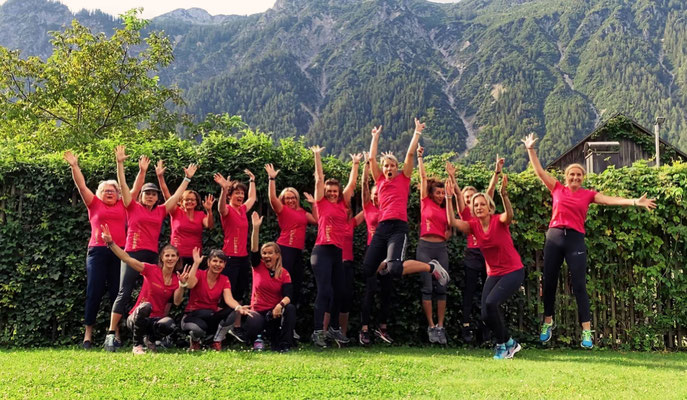 Forest Fitness Weekend 2020 in Braz. Eine riesen Truppe.