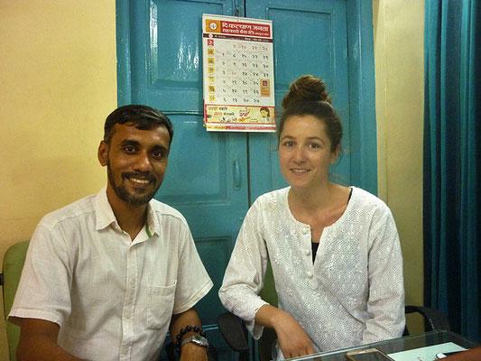 Unterstütztes Projekt Barefoot Acupuncturists Mumbai Indien Corin Koster und Satish