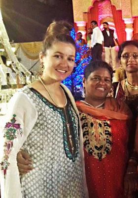 Unterstütztes Projekt Barefoot Acupuncturists Mumbai Indien Corin Koster und Ujwala Patil