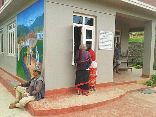 Unterstütztes Projekt Acupuncture Relief Project Nepal Medizinische Erstversorgung Reception