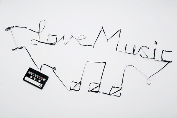 """I Love Music"" Audio Cassette Typing"