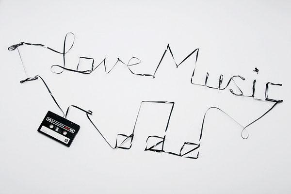 """I Love Music"" Audio Cassette Typing"