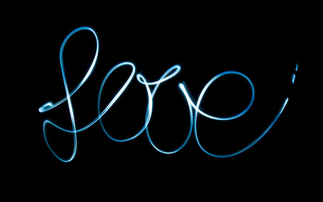 """Love"" Lightpaint"