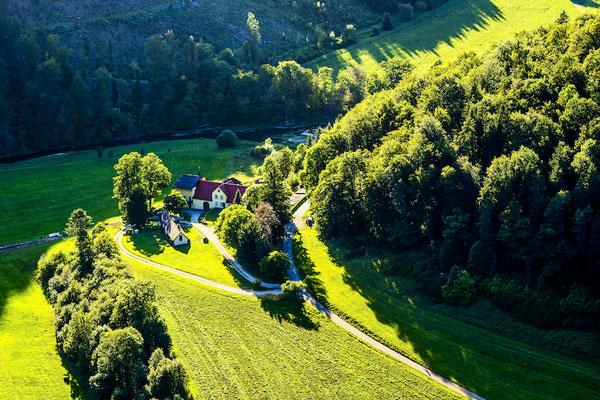 Blick von der Burg Wildenstein 2019