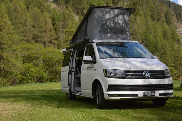 Autocenter Baschnagel Wettingen - VW Campingbus - VW California - Campingferien - VW Bus