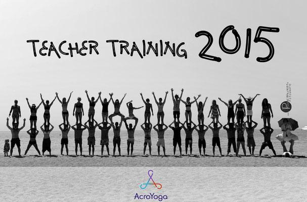 Acroyoga Teacher Training 2015