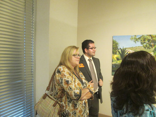 Hispanic heritage Art Exhibition City Hall Terrace Gallery  October 2016