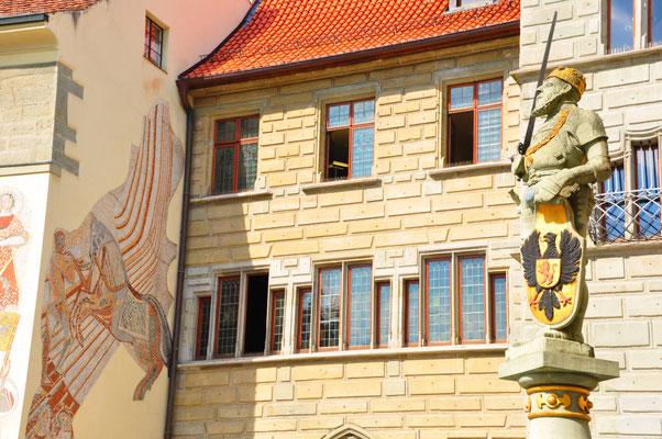 Rathaus Überlingen mit historischen Rathaussaal