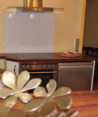 Bella Vista - Küche & Esszimmer - Ferienwohnung Überlingen am Bodensee