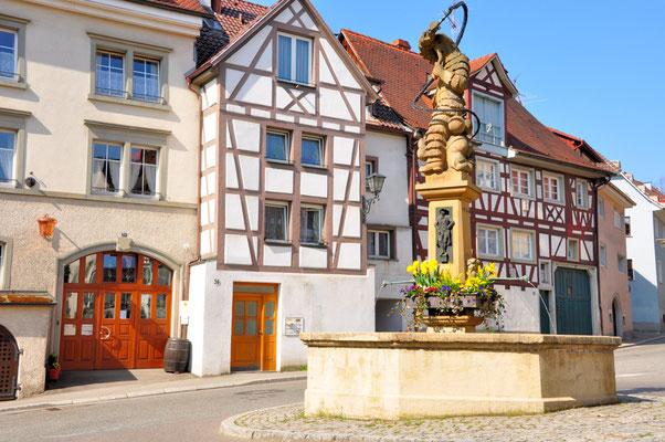 """Hänselebrunnen im """"Dorf"""""""