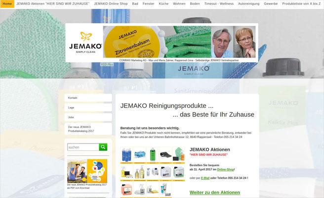 JEMAKO Mikrofaserreinigung - Max und Maria Zahner, selbst. JEMAKO Vertriebspartner