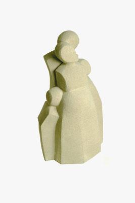5  Familie  2009  28x22x54cm   Sandstein
