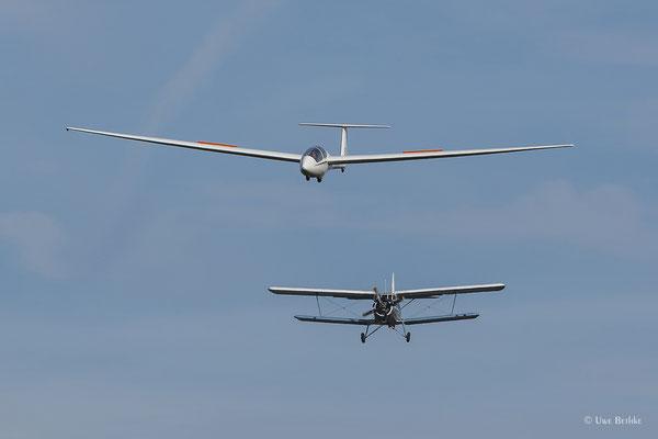 Schleicher ASK-21 - D-6459,  Antonov AN-2 - D-FWJK