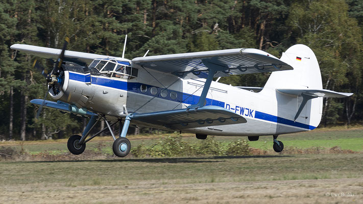 Antonov AN-2 - D-FWJK