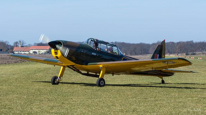 de Havilland DHC-1 Chipmunk (D-EFOM)