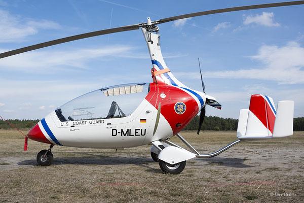 Autogyro Calidus - D-MLEU
