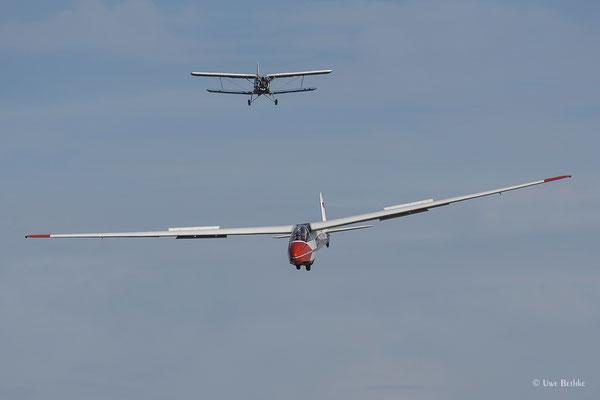 Schleicher Ka 7 Rhönadler - D-4076, Antonov AN-2 - D-FWJK
