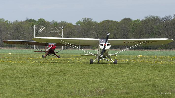 Piper PA-18-95 Super Cub (D-EKQF), Piper PA-18-95 Super Cub (D-EHAP)