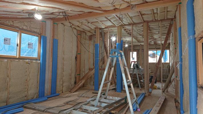 緑の木まち拡大事業:新築物件_羊毛断熱材フルスペック