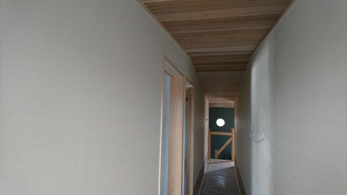 公募型木のまちづくり事業_改装内装クロス工事