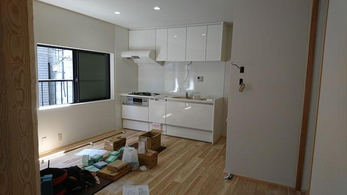 改装工事_樺の床板
