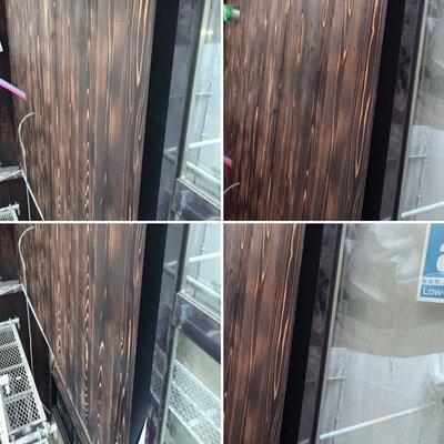 2階母屋外壁焼杉|京都府産材|木のまちづくり推進事業|緑の工務店|タクミ建設