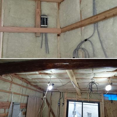 羊毛断熱材|バージンウール呼吸性防音断熱材|木のまちづくり推進事業|タクミ建設