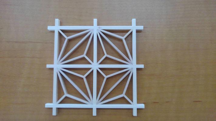 次世代京町家の会_第3回組子細工教室:作製予定作品