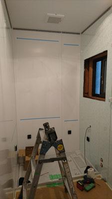 R様邸浴室工事中