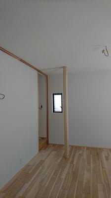 改装工事_北山杉の八角柱
