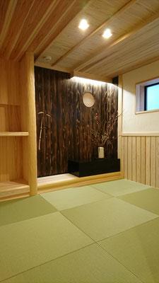 改装工事_公募型木のまちづくり推進事業:和室造作