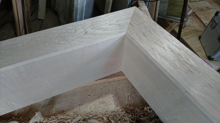 楓框造作完了_府産材|羊毛断熱材|リノベーション|京都リフォーム工事|緑の工務店|タクミ建設株式会社