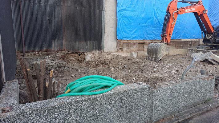 R元年公募型事業応募予定:新築物件_解体工事中