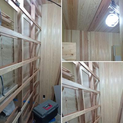 別棟壁板桧並・杉上小|京都府産材|木のまちづくり推進事業|緑の工務店|タクミ建設