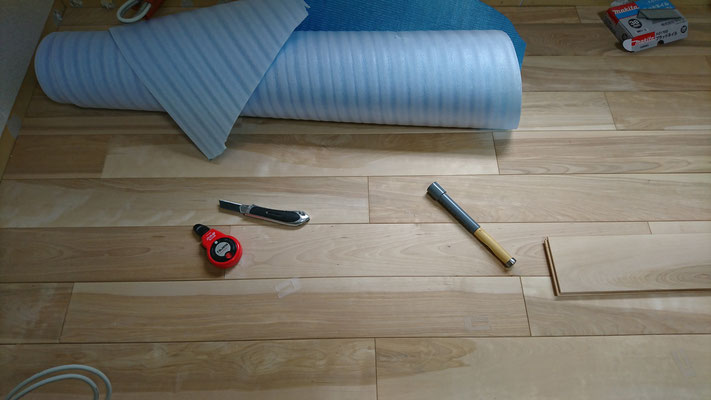 樺の床板バージョン~上品な仕上がりです