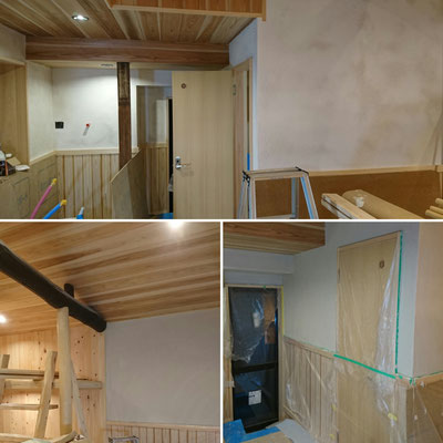 木のまちづくり推進事業|天然塗壁Healthywall京工|府産材|みやこ杣木|タクミ建設