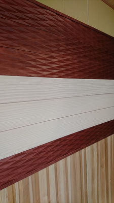wood one 建材「デザインwool」でアクセント壁造作_府産材|羊毛断熱材|リノベーション|京都リフォーム工事|緑の工務店|タクミ建設株式会社