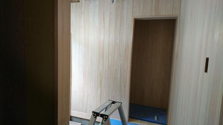 公募型木のまちづくり事業_改装内装桧上小