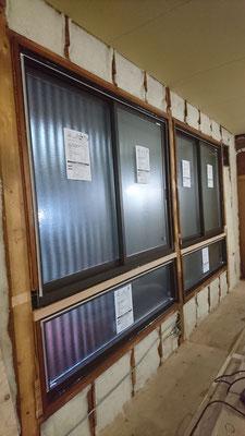 G様邸改装工事_マドリモ設置と壁羊毛断熱工事