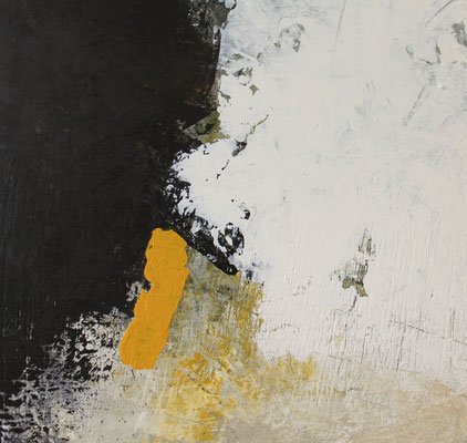 Espace jaune N°1  50x50cm  2020