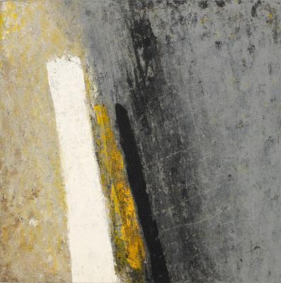 Murmure sous l'écorce N°2 60x60cm 2016