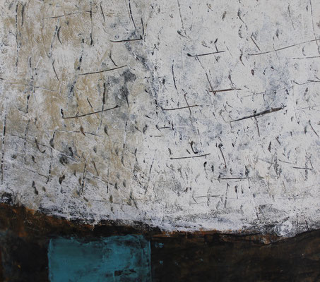 Matière couleur-bleu 1  32x32cm 2020