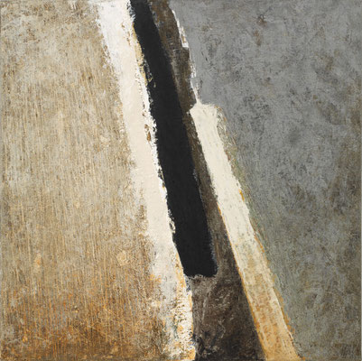 Murmure sous l'écorce N° 1  60X60cm 2016