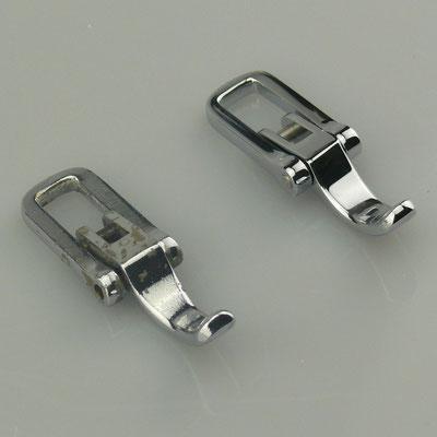 Diese Motorhauben Verriegelungen für einen Messerschmitt Kabinenroller wurden nach einem vorhandenen Muster des Kunden nachgegossen. Als Material kam Messing zum Einsatz, die Oberfläche wurde glänzend verchromt - nachguss.de