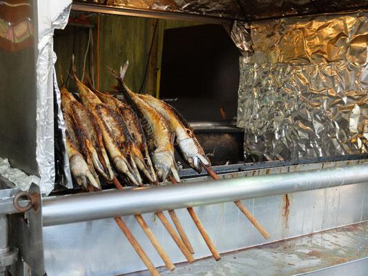 鯖の丸焼き