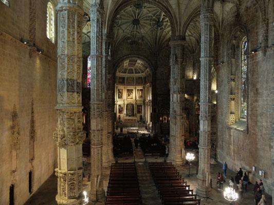 ジェロニモス修道院の教会