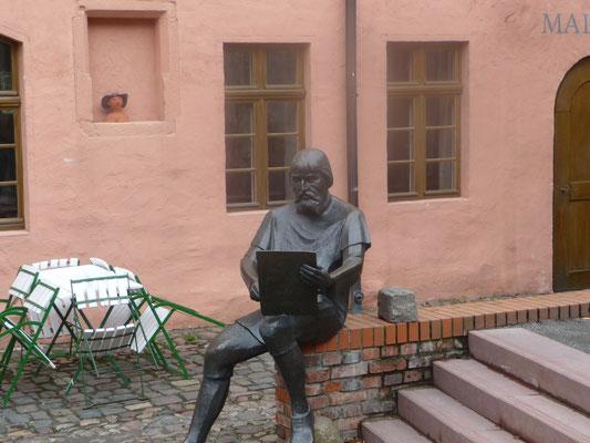 Der bekannte Maler Lucas von Cranach lebte und wirkte in Wittenberg. (Cranach- Höfe und Cranach-Häuser)